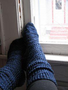 beautiful socks made by my friend leila