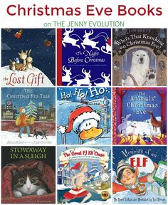 Children just love these Christmas Eve books for Kids! on The Jenny Evolution Christmas Books For Kids, Christmas Activities, Christmas Traditions, Book Activities, Christmas Eve, Christmas Ideas, Xmas, Sequencing Activities, Winter Activities