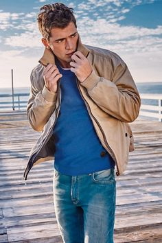 Men's casual style | Sean O'Pry for Next Spring 2015