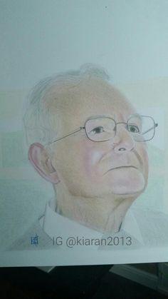 Portrait of my grandad. RIP 16.06.15