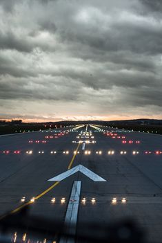 Airports runways, beginning of an adventure or a sign of coming home.