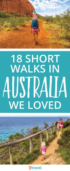 Short walks in Australia to love! Check out these 18 walks or hikes in Australia to do. Beautiful scenery in all seasons and family friendly too! Brisbane, Sydney, Visit Australia, Australia Travel, Auckland, Travel Guides, Travel Tips, Travel Around The World, Around The Worlds