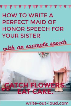 Step by step guidelines to help put together an original, heartfelt maid of honor speech for your sister. Speech Writing Tips, Writing Strategies, Maid Of Honor Speech, Best Speeches, Understanding Anxiety, Leadership Roles, Public Speaking, Helping Others, Elementary Schools