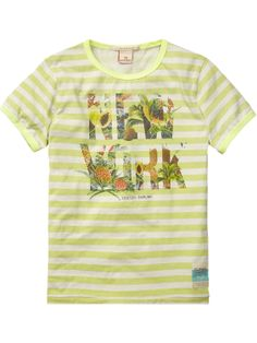 tee with photo print | T-shirt s/s | Boys Clothing at Scotch & Soda