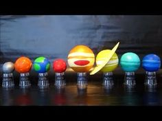Planets In Our Solar System   DIY Science Project For Kids   Easy To Do Solar System Model - YouTube