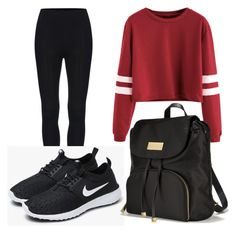 """School day📚"" by karin-humhalova on Polyvore featuring NIKE and Victoria's Secret"