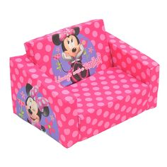 Minnie Mouse Flip Out Sofa Bed - Increased demand and smaller dwelling spaces have caused sofa manufacturers to focus a lot Toddler Playroom, Toddler Bed, Kids Couch, Couch With Ottoman, Minnie Mouse Toys, Cute Furniture, Furniture Design, Sofa Manufacturers, Dorms Decor