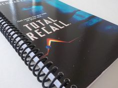 Notebook, 4.00 X 7.50, 90 pages, VHS Notebook, VHS Box, Upcycled Notebook…