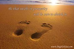 He that swells in prosperity will be sure to shrink in.  #prosperity #quotes