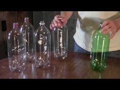Corta A Tiras Las Botellas De Plastico Y Nos Revela Un Truco De RECICLAJE Genial - MiraQueVideo.com