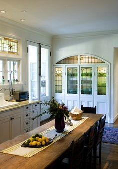 Stained Glass Kitchens cabinets.....