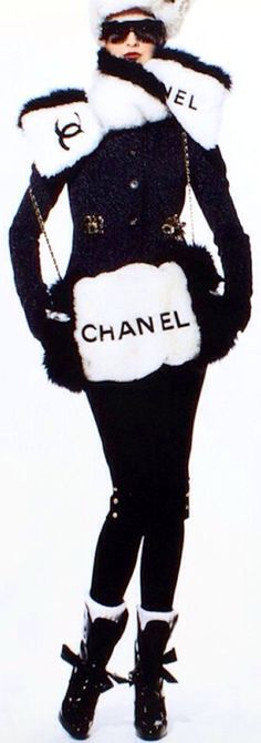 Chanel | Who does not Love being wrapped in CHANEL❤️ repin mollylucille                                                                                                                                                                                 More