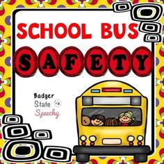 A comprehensive packet for teaching children the rules on the school bus and techniques to solve problems on the bus. Problems on the school bus? That's something teachers hear about daily. Some of our most challenging students have big and small challeng School Bus Safety, School Bus Driver, Social Stories, Problem Solving, Teaching Kids, Students, Big, Children, Transportation
