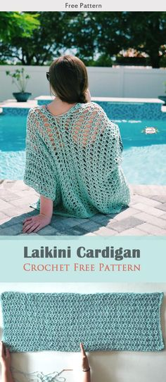 Laikini Cardigan Crochet Free Pattern #freecrochetpatterns #cardigan