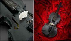 The Blackbirdis a full-size playable violin made of black diabase, based…