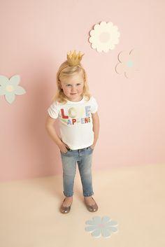 Baby Girl's Love Happens Tee - Bardot Junior