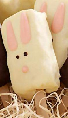 Rice Krispies Bunny Pops