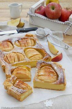 Torta di mele con pasta sfoglia e crema (cotta in forno) | Il Sollucchero... una mamma in cucina | Bloglovin'