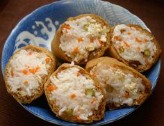 Inari zushi or cone sushi, is one of those great