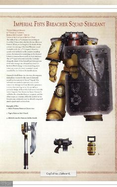 Imperial fist breacher marine