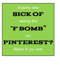 Yes! If it's there, it doesn't matter how true or funny the pin is; I won't repin.