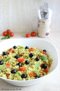 Couscous, Quinoa, Great Recipes, Healthy Recipes, Friend Recipe, Tasty, Yummy Food, Food Decoration, Italian Recipes