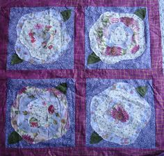 french roses quilt pattern   Sew and Tell – Baby French Roses 2 ... : french roses quilt pattern free - Adamdwight.com