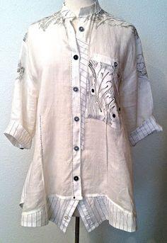 2-shirt refashion--with details! Diane Ericson Design