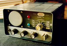 """One of my early collectibles, the Sonar """"H"""". Ham Radio, Ants, Electronics, Collection, Moose, Ant, Consumer Electronics"""