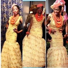 Hudayya Couture Nigerian Wedding: 20 Beautiful Rivers/ Ijaw Brides, Their Style, & Their Flawless Makeovers | Nigerian Wedding