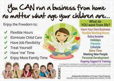 Do you want to spend more time with your little ones, don't want to go back to work after maternity leave?? Contact aloehealthandrecruitment@gmail.com or go to https://www.foreverliving.com/retail/entry/Shop.do?store=GBR&language=en&distribID=440500038542