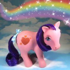 G1 Vintage My Little Pony Dutch Heart Pony/ Hartjes-Pony