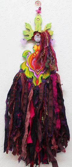 Yoni Goddess art doll...