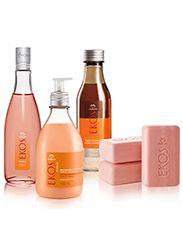 Conjunto Exclusivo Natura Ekos Pitanga - Desodorante Hidratante Corporal + Sabonete + Óleo + Desodorante colônia Frescor