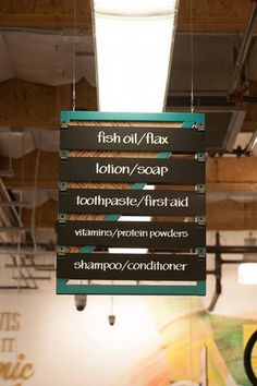 grocery aisle signs - Google Search