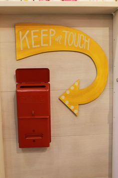Belle and Union booth - Keep in Touch box