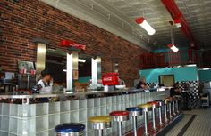 Route 66 Soda Fountain in Baxter Springs Kansas  http://route66jp.info Route 66 blog ; http://2441.blog54.fc2.com https://www.facebook.com/groups/529713950495809/