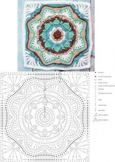 53 Besten Mandala Crochet Bilder Auf Pinterest