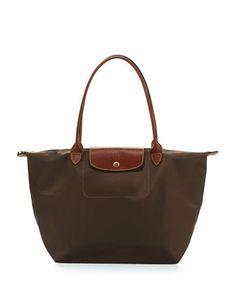 8be6f24070 Longchamp Le Pliage Large Shoulder Tote Bag
