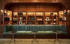 Restaurant and Bars Bar Interior Design, Restaurant Interior Design, Cafe Interior, Cafe Design, Design Design, Lounge Design, Bar Lounge, Lounge Seating, Restaurant Seating