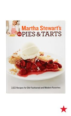 Thanksgiving dessert has been served! Martha Stewart shares her fave 150 recipes in this delightful cookbook that's sure to have something for every taste.