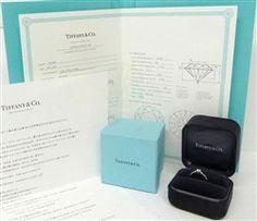 TIFFANY & Co. Platinum Harmony .29ct Diamond Engagement Ring 5.5 Diamond Engagement Rings, Tiffany, Diamond Engagement Ring