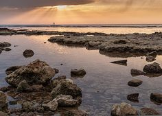 Greeting cards, canvases and prints. Starting at $6.95. Copyright: Sergey Simanovsky #landscape #seascape #sea #water #sunset #sky #clouds #israel #MiddleEast #HolyLand #rocks #reflection #Acre #waterscape