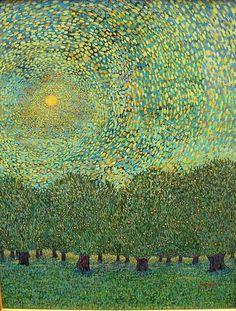 MontanaRosePainter on imgfave Art Paysage, Watercolor Trees, Watercolor Landscape, Landscape Art, Landscape Paintings, Abstract Paintings, Oil Paintings, Gustav Klimt, Claude Monet