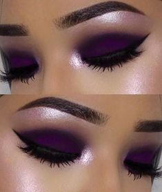 Purple matte/ lavender highlight