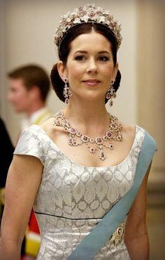 Crown Princess Mary of Denmark.