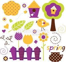 Resultado de imagem para cute spring illustration