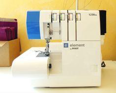 surjeteuse element by Pfaff Techniques Couture, Sewing Techniques, Blog Couture, Couture Fashion, Serger Sewing, Couture Sewing, Sewing Patterns, How To Make, Scotch