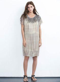 Velvet Beila Beaded Tie Dye Dress