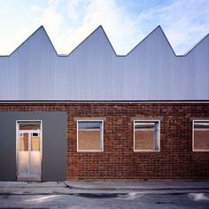 The Sackler Building by Haworth Tompkins Excellent factory conversion